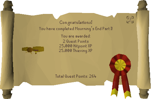 Mourning's End Part I reward scroll.png