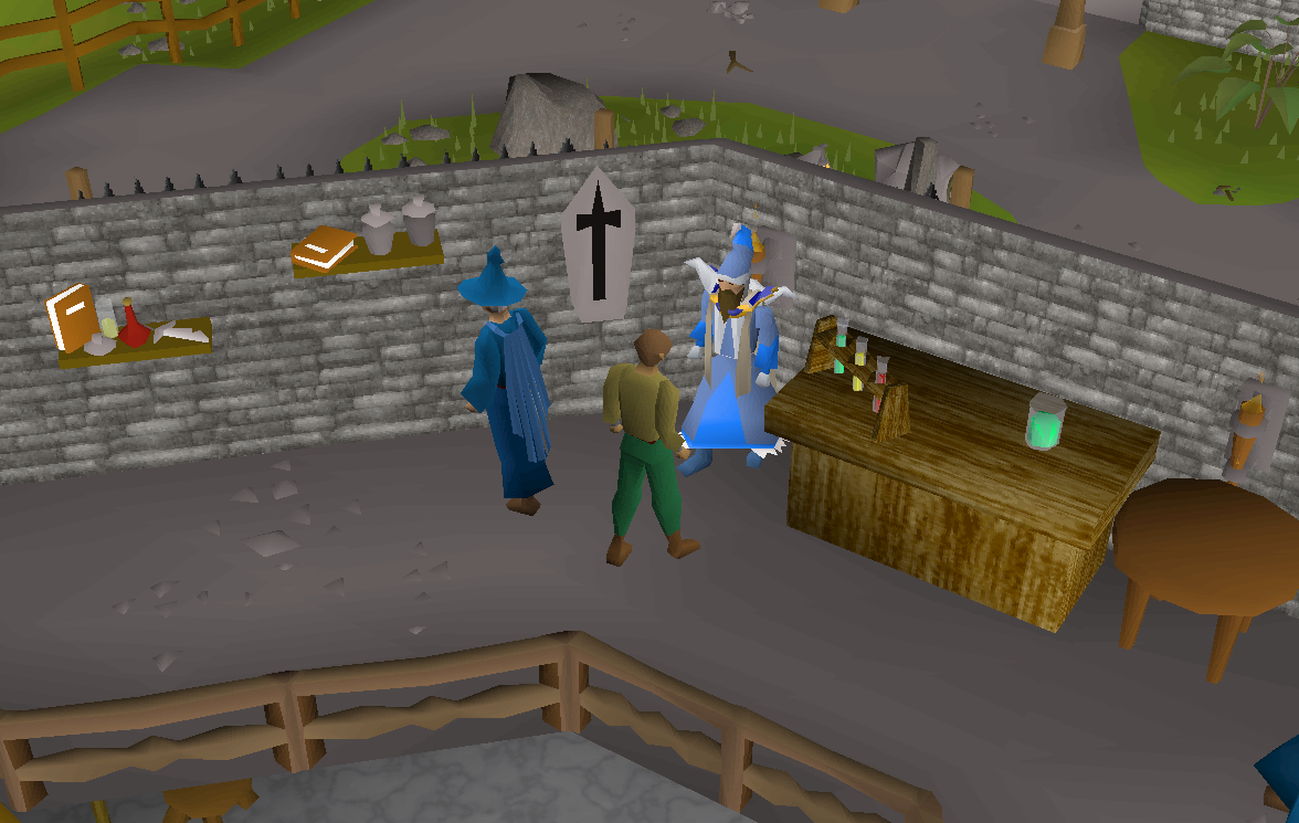 Magic Guild Store (Mystic Robes) - OSRS Wiki