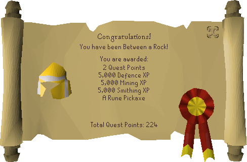 Between a Rock... reward scroll.png