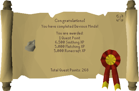 Devious Minds reward scroll.png