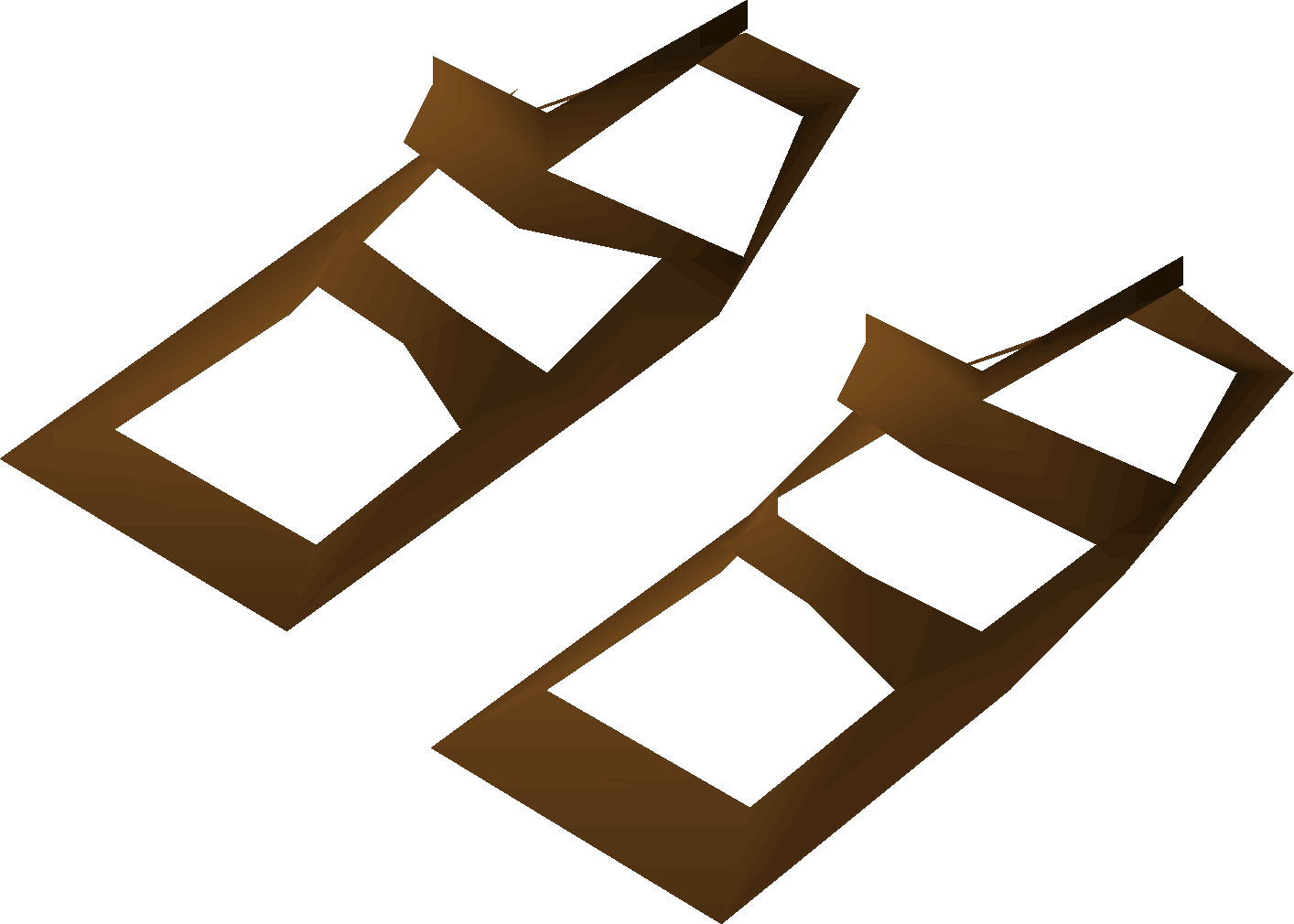 54044afaca55e4 Villager sandals (brown) - OSRS Wiki