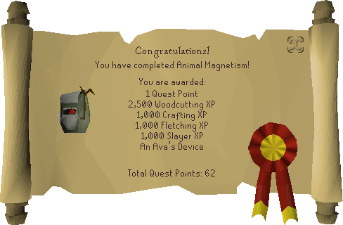 Animal Magnetism reward scroll.png