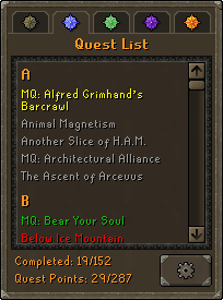 Quests Osrs Wiki