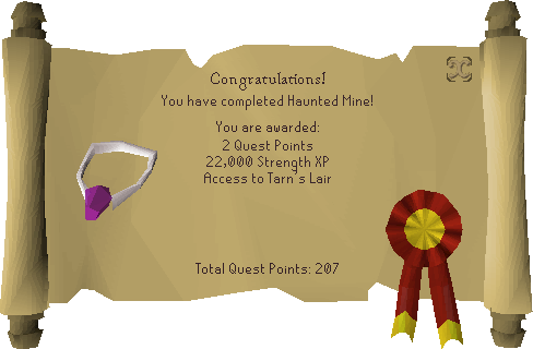 Haunted Mine reward scroll.png