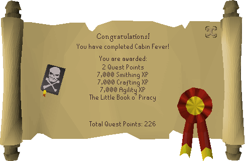 Cabin Fever reward scroll.png