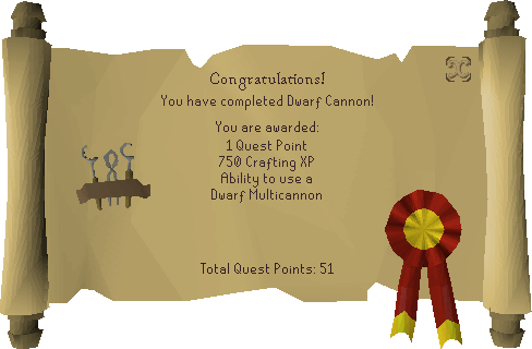 Dwarf Cannon reward scroll.png