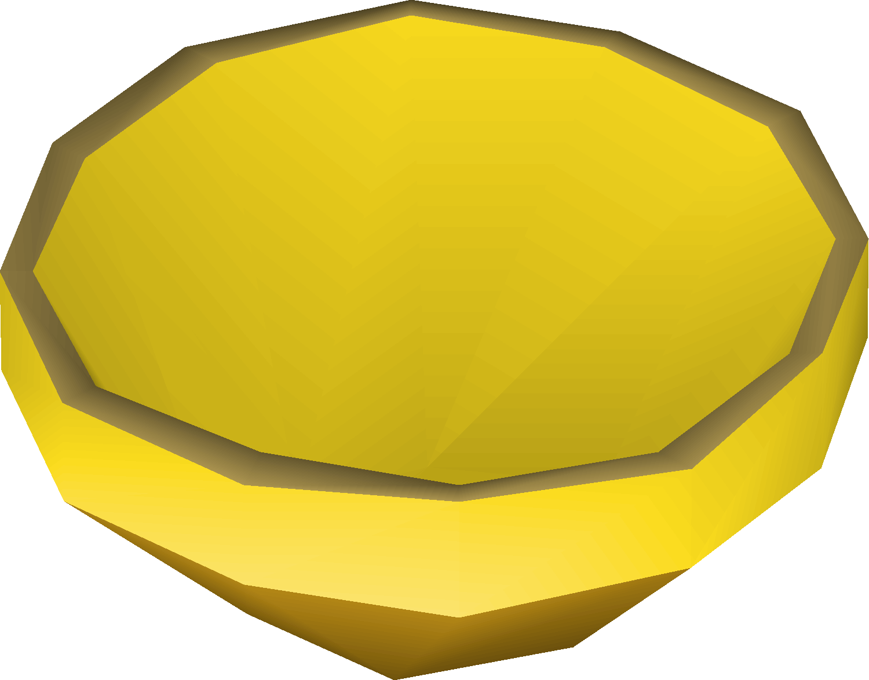 Gold bowl - OSRS Wiki