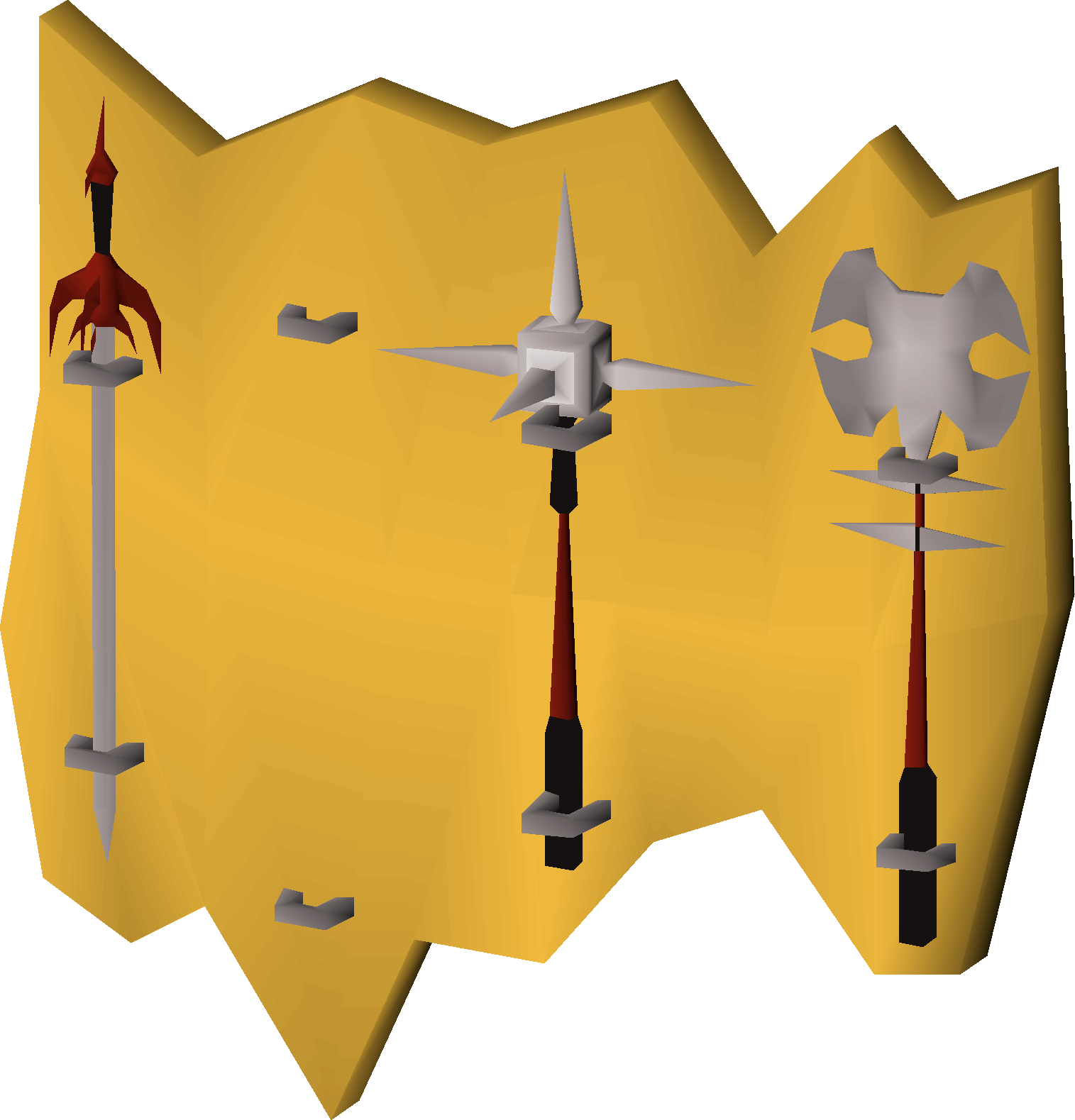 Weapon rack (Tolna's rift) (Missing spear).png