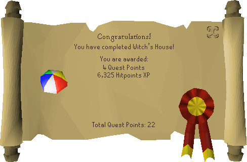 Witch's House reward scroll.png