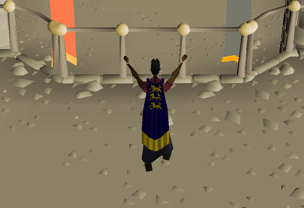 Update:Fossil Island Kudos Display, the Champion's Cape, and