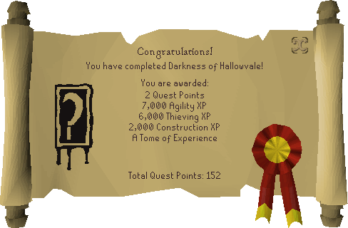 Darkness of Hallowvale reward scroll.png