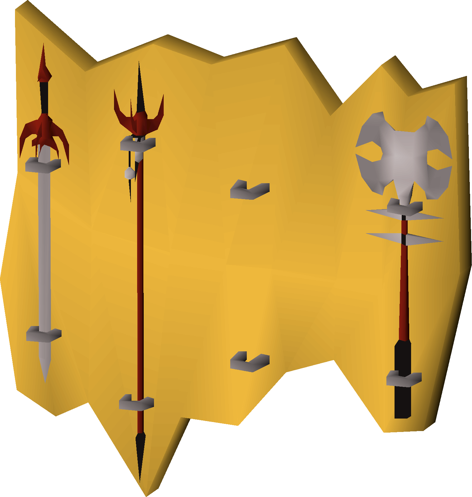 Weapon rack (Tolna's rift) (Missing mace).png