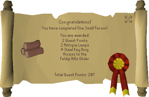 One Small Favour reward scroll.png