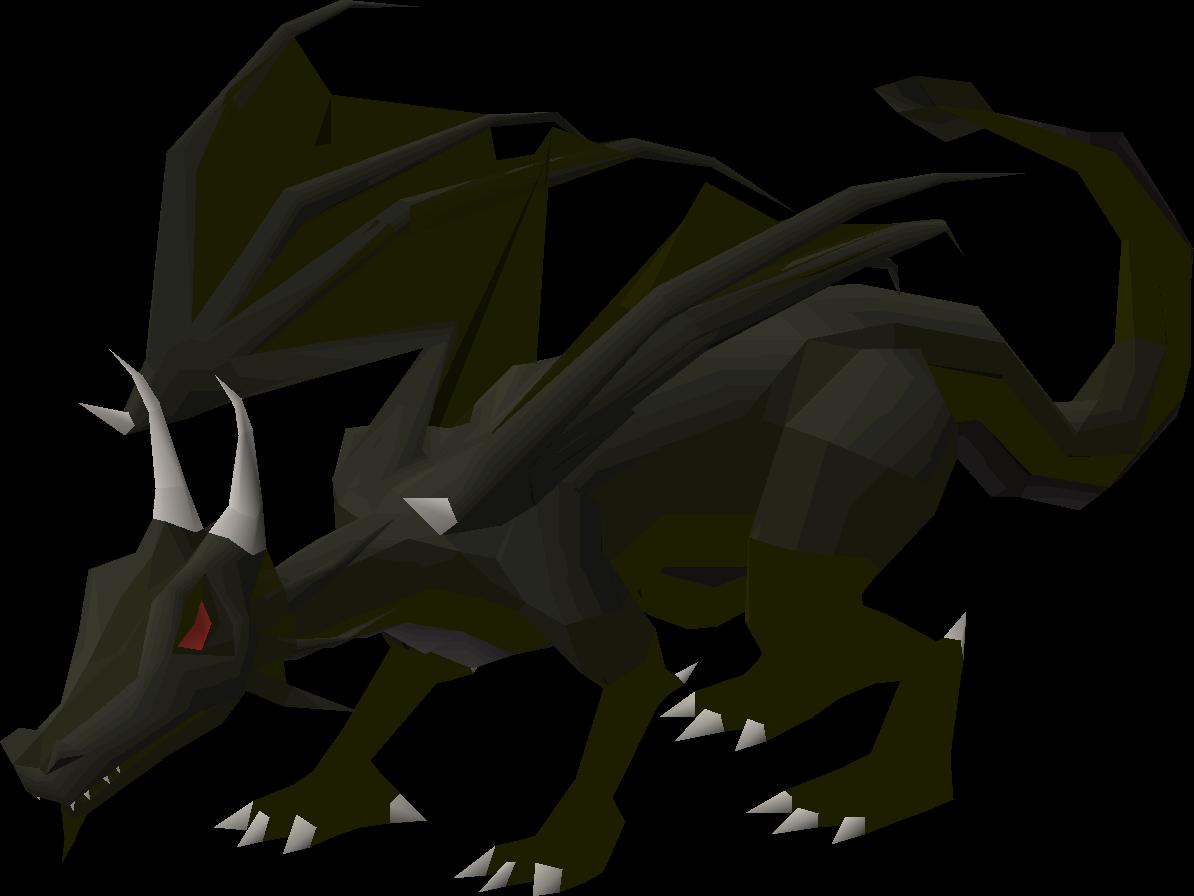 1bed66de399 Black dragon - OSRS Wiki