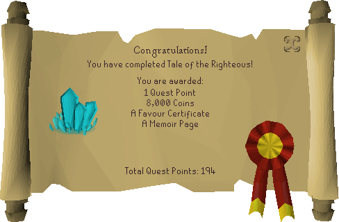 Tale of the Righteous reward scroll.png