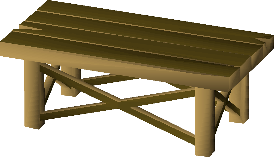 Awesome Wooden Workbench Osrs Wiki Short Links Chair Design For Home Short Linksinfo