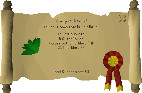 Druidic Ritual reward scroll.png