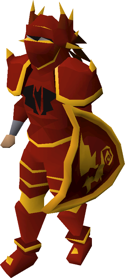 gold trimmed dragon pickaxe upgrade