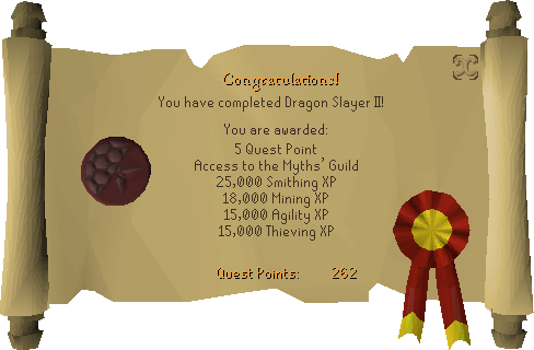 Dragon Slayer II reward scroll.png