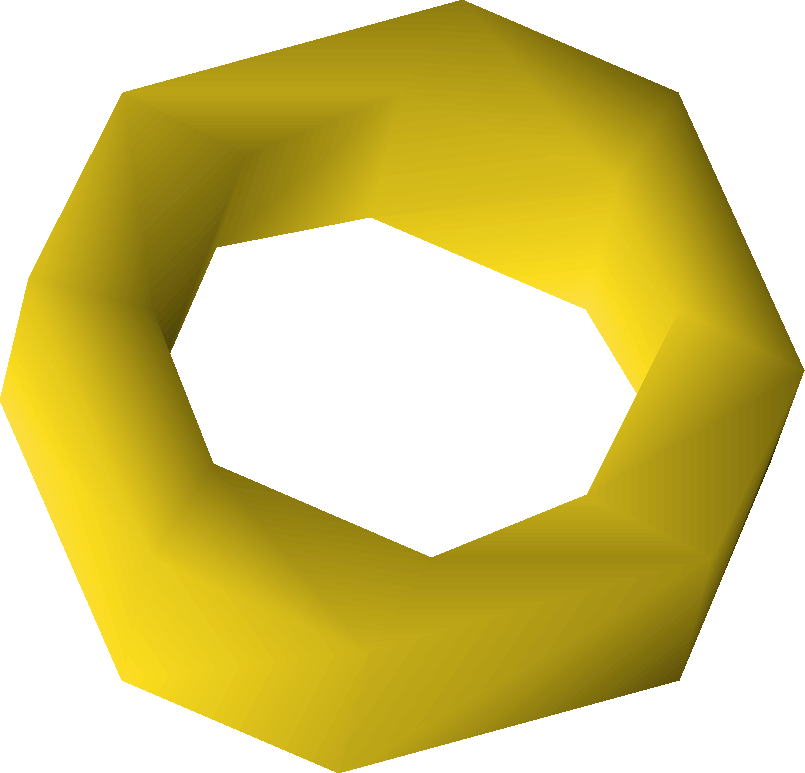 Gold ring - OSRS Wiki