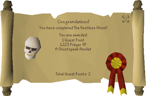 The Restless Ghost reward scroll.png