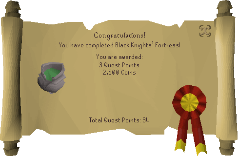 Black Knights' Fortress reward scroll.png