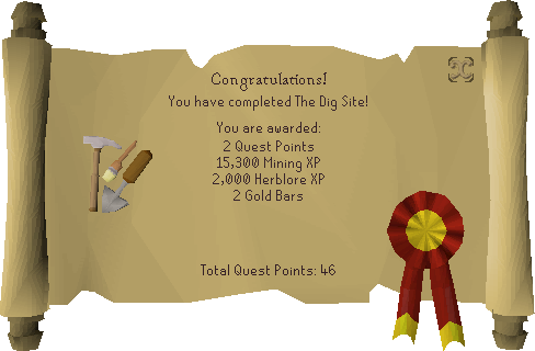 The Dig Site reward scroll.png