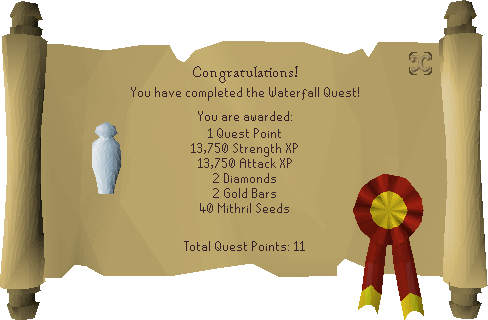 Waterfall Quest - OSRS Wiki