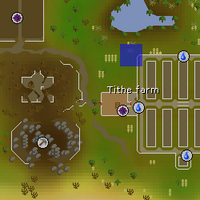 Hot cold clue - north of Tithe Farm map.png