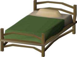 Teak bed (small, 2, Mahogany Homes) built.png