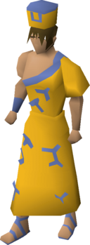 Villager clothing (yellow) equipped.png
