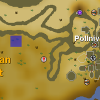 Hot cold clue - west of Pollnivneach map.png