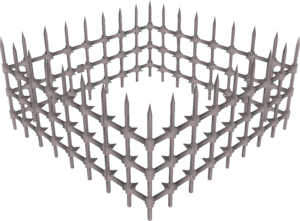 Spiked cage built.png
