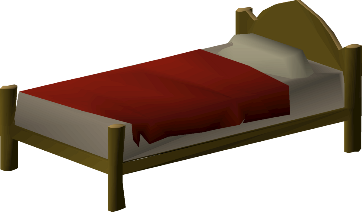 Wooden Bed Osrs Wiki