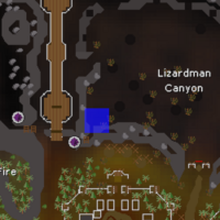 Hot cold clue - Lizardman Canyon map.png