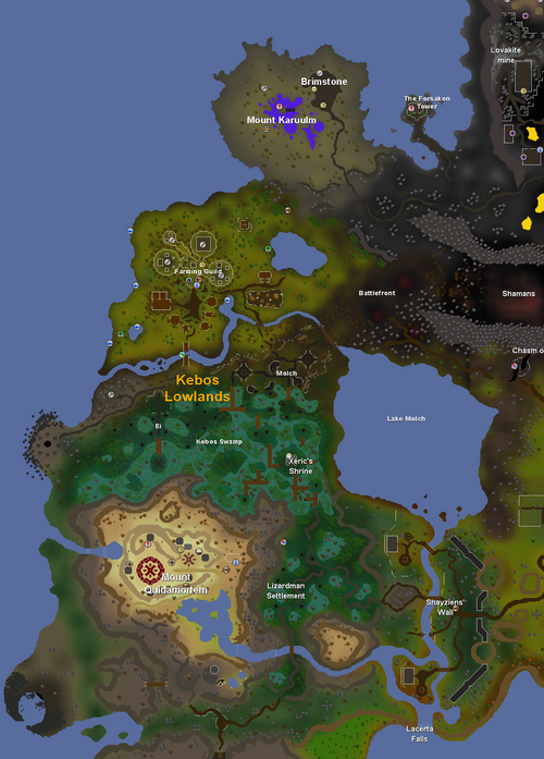 OSRS Reveals: The Kebos Lowlands - The Old School RuneScape Wiki