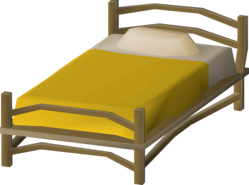 Teak bed (small, Mahogany Homes) built.png