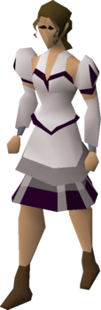 White elegant clothing equipped.png