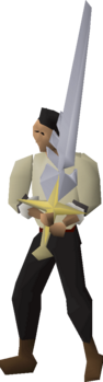 Saradomin sword equipped.png
