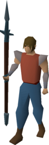 Rune hasta equipped.png