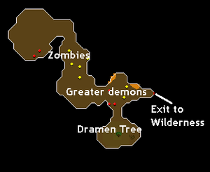 Entrana Dungeon map.png