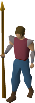 Gilded spear equipped.png