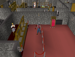 Emote clue - raspberry warrior guild bank.png