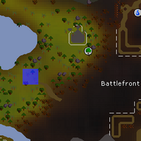 Hot cold clue - west of Battlefront map.png