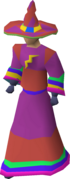 A player wearing infinity robes.