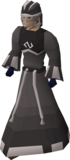 A player wearing Void Knight robes.