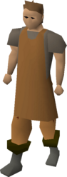 Brown apron equipped.png