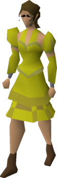 Gold elegant clothing (female) equipped.png