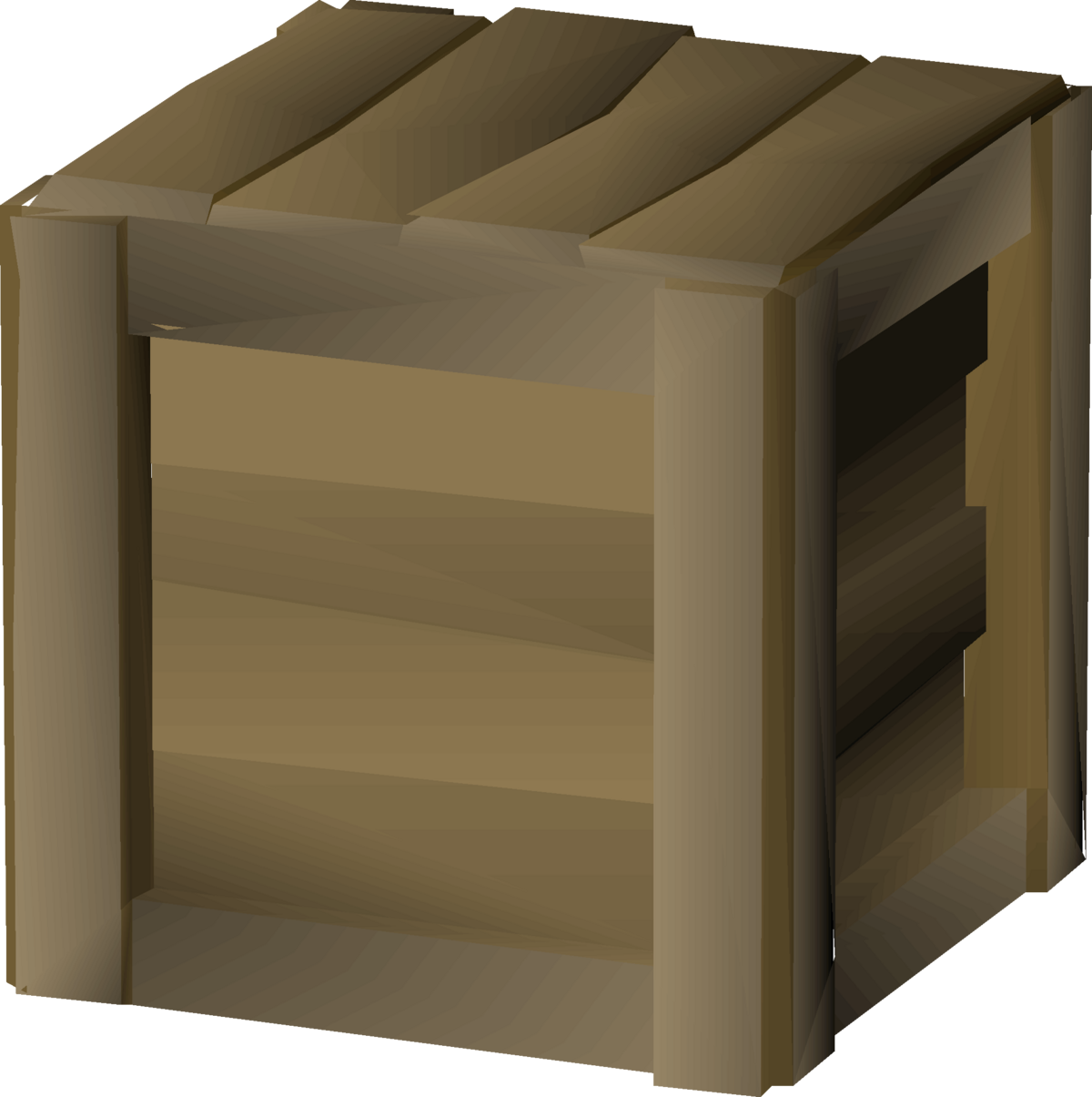 Wooden crate - OSRS Wiki
