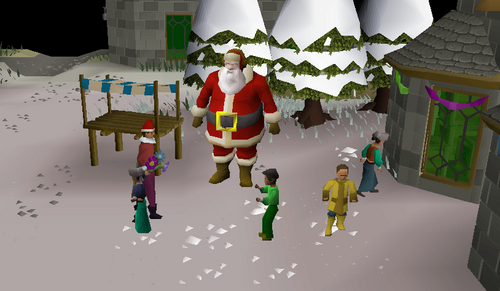 Osrs Christmas Quest 2021 Update Christmas 2019 Osrs Wiki